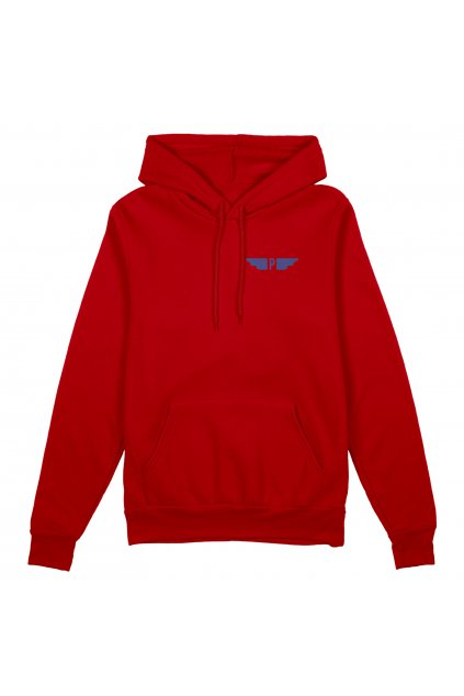 hoodie red front