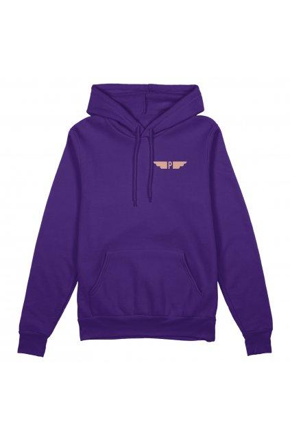 hoodie purple front